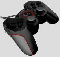 GIOTECK Controller Wired VX-2 PS3 Nero
