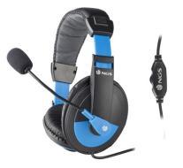 NGS-MSX9 Pro Cuffia con Microfono Blue