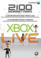 MICROSOFT X360 Live 2100pt Card