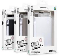 DSi XL Guscio Silicone+Pellicola protett
