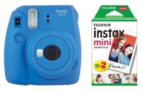 FUJIFILM Fotoc.Instax MINI9 BLUE+20Shots