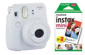 FUJIFILM Fotoc.Instax MINI9WHITE+20Shots