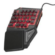 TRUST GXT 888 AssaSingle Handed Keyboard