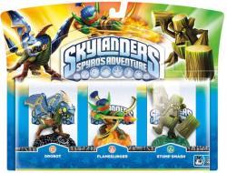 Skylanders Drobot+StumpSmash+Flamesling.