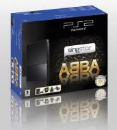 Playstation 2 Slim + Singstar Abba + Mic