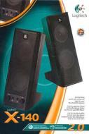 LOGITECH PC Speakers X-140 2.0  5W