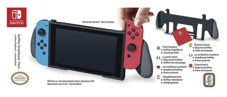 BB Grip Ufficiale Go Play SWITCH