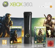 XBOX 360 Elite System Halo 3+Fable 2
