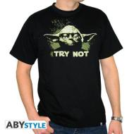 T-Shirt Star Wars - Yoda Try L
