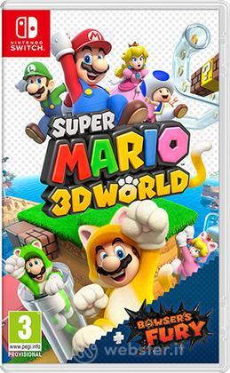 Mario 3D Worlds + Bowser's Fury