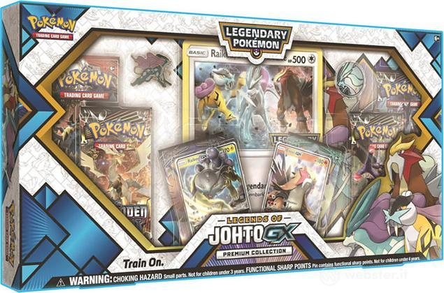 Pokemon Leggende di Johto Premium GX Box