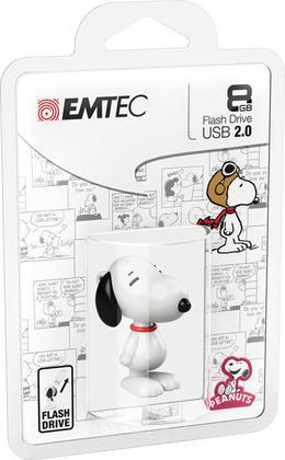 EMTEC USB Key 8GB PEANUTS Snoopy 3D