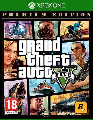 Grand Theft Auto V Premium Online Ed.