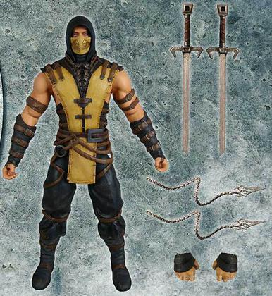 Figure Mortal Kombat X - Scorpion