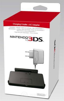 Nintendo 3DS-Stand Ricarica+Caricabatt