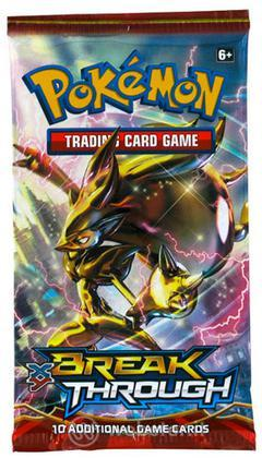 Pokemon XY Break Through busta UK