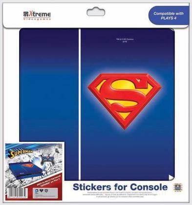 Stickers Superman PS4