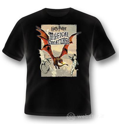 T-Shirt HP Magical Creatures - Dragon XL