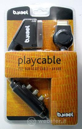 PS2 RGB Scart Cable Playcable Bkool