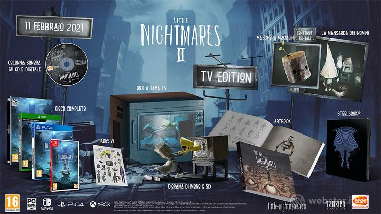Little Nightmares 2 Collectors Edition