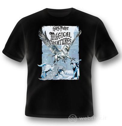 T-Shirt HP Magical Creatures-Buckbeak XL
