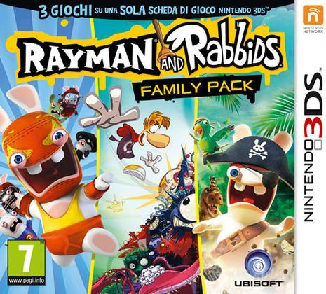 Rabbids & Rayman Family Pack