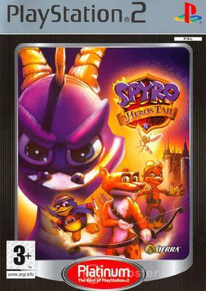 Spyro a Hero's Tail PLT