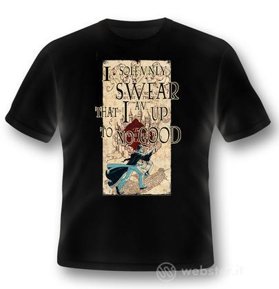 T-Shirt Harry Potter Marauder Map L
