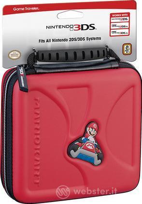 BB Cus.Viaggio 2DS-2DSXL-3DS SMario Red