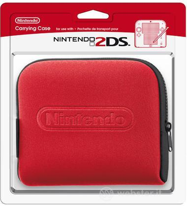 NINTENDO 2DS Custodia - Red