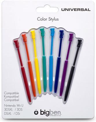 BB Stylus Colorati Pack 8 pezzi Wii U