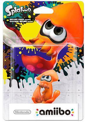 Amiibo Splatoon Calamaro Inkling-arancio