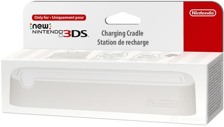 Nintendo New 3DS Stand Ricarica Bianco