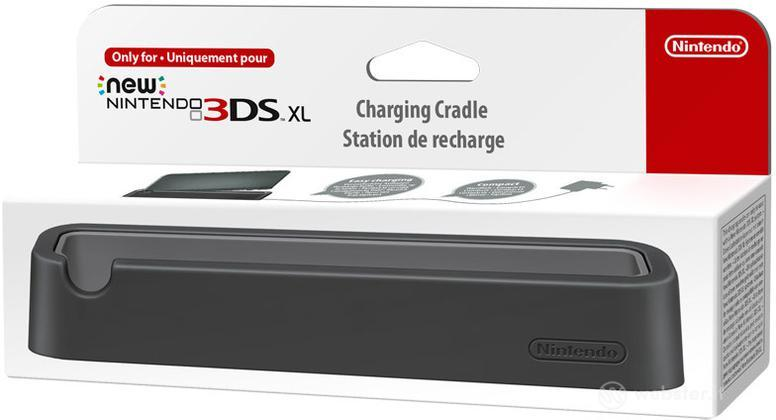 Nintendo New 3DS XL Stand Ricarica Nero