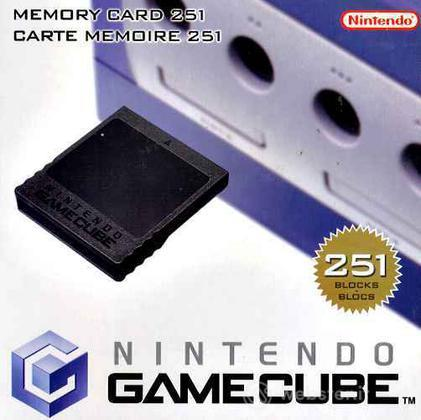 G3 Memory Card 251 - NINTENDO