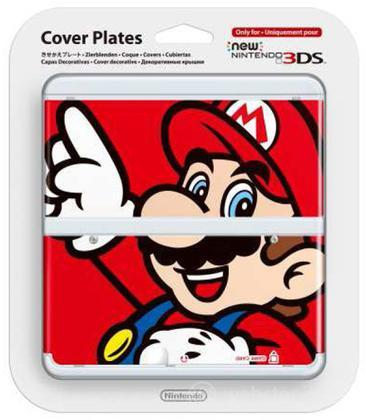 Nintendo New 3DS Cover Mario