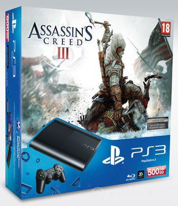 Playstation 3 500GB+Assassin's Creed III