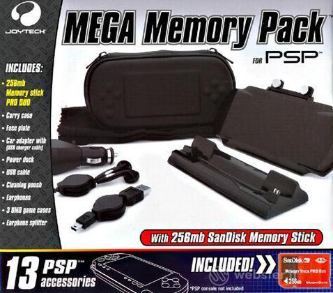 JOYTECH PSP - Mega Memory Pack