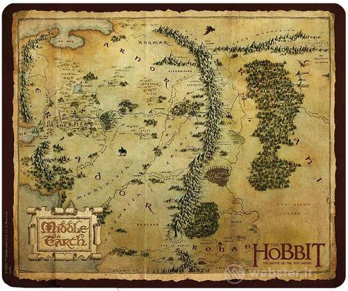 Mousepad Lo Hobbit - La Terra di Mezzo