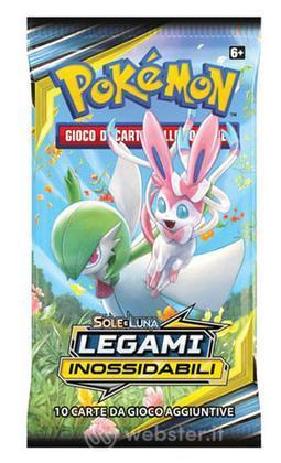 Pokemon Sole e Luna Legami Inossid.Busta