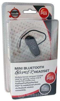 Cuffie Wireless Bluetooth Gameon PS3