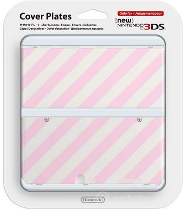 Nintendo New 3DS Cover Righe Oblique
