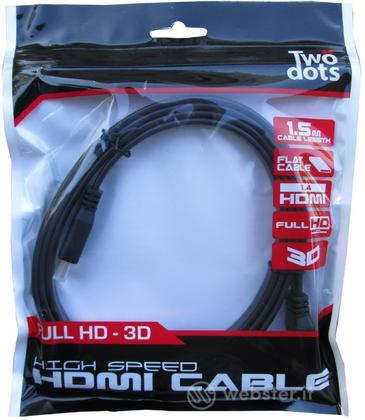 TWO DOTS Cavo HDMI Standard