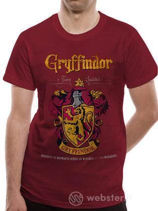 T-Shirt Harry Potter-Grif. Quidditch-XL