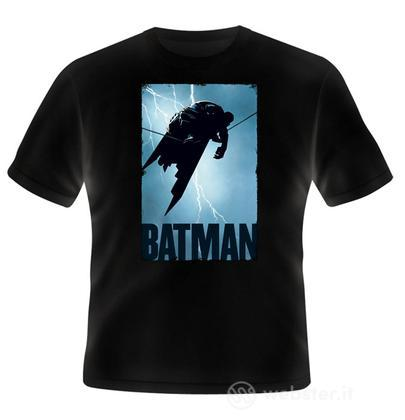 T-Shirt Batman Miller Lightning M