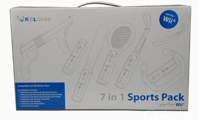 WII sports pack 7in1 Bianco