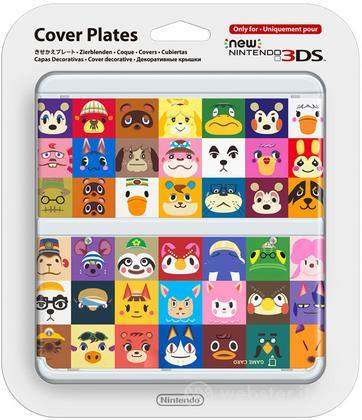 Nintendo New 3DS Cover Animal Crossing