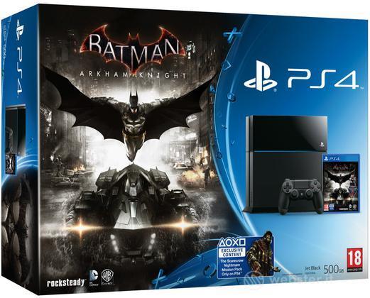 Playstation 4 + Batman Arkham Knight