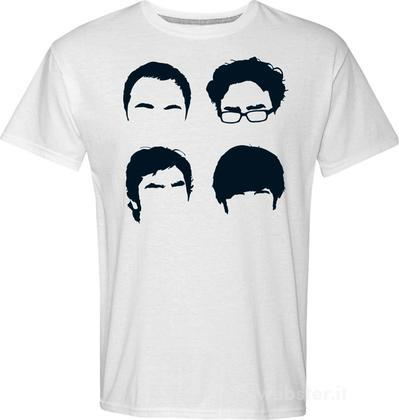T-Shirt Big Bang Theory Faces XL