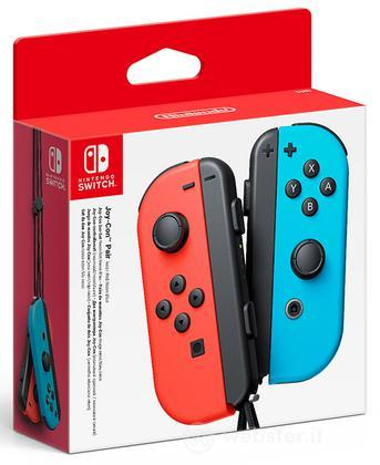 Nintendo Switch Set 2 Joy-Con Rosso Blu